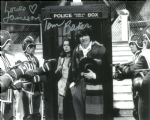 Tom Baker, Louise Jameson  -  Multi signed original autograph not a copy 10267